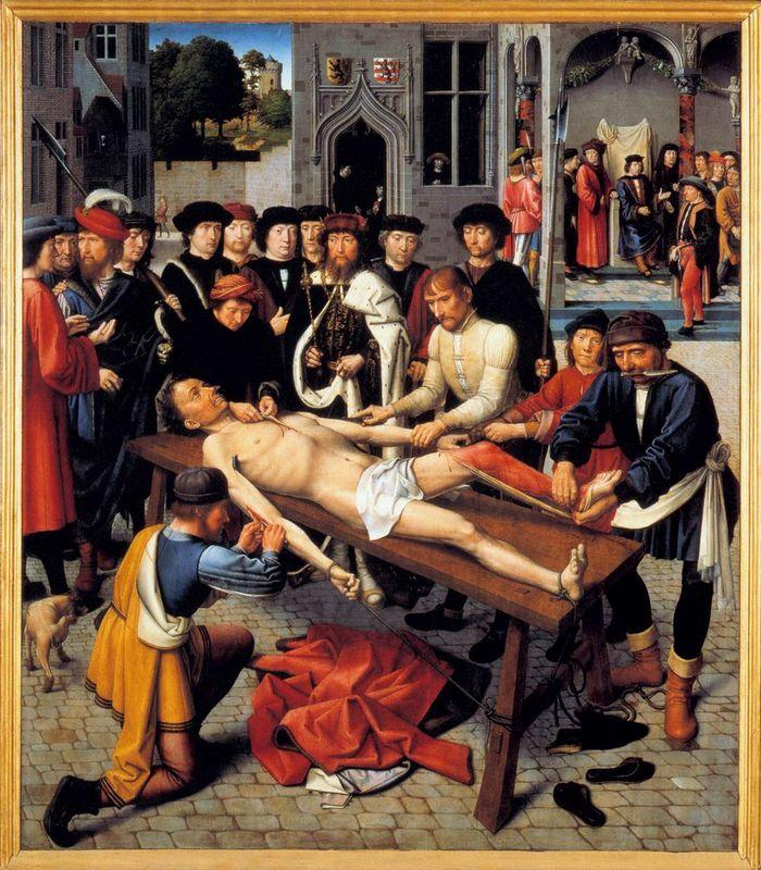 The Flaying of the Corrupt Judge Sisamnes - Gerard David
