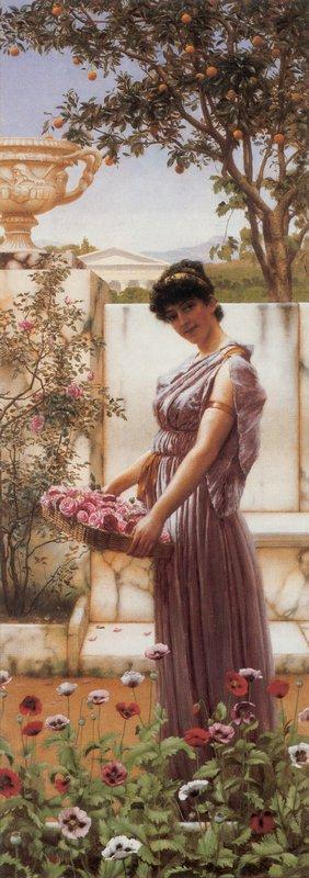 The Flowers of Venus - John William Godward