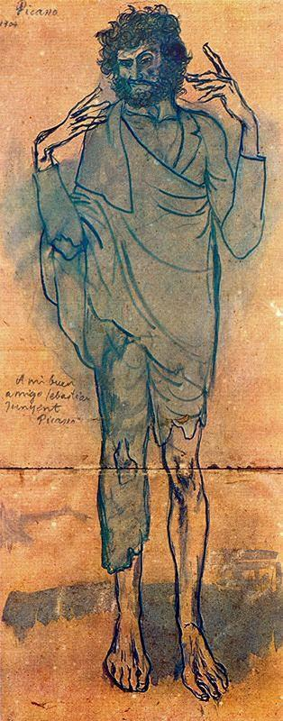 The fool - Pablo Picasso