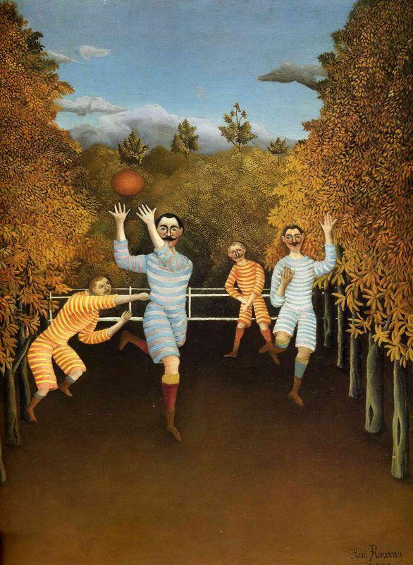 The Football players - Henri Rousseau
