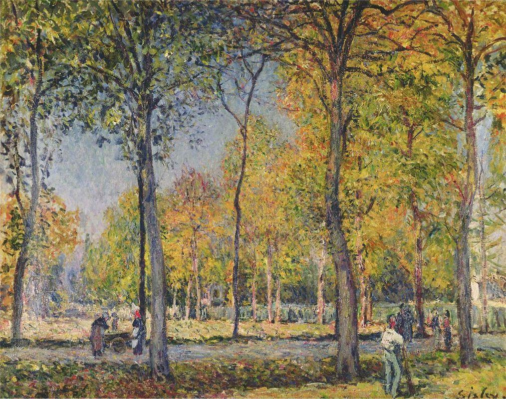 The Forest at Boulogne - Alfred Sisley