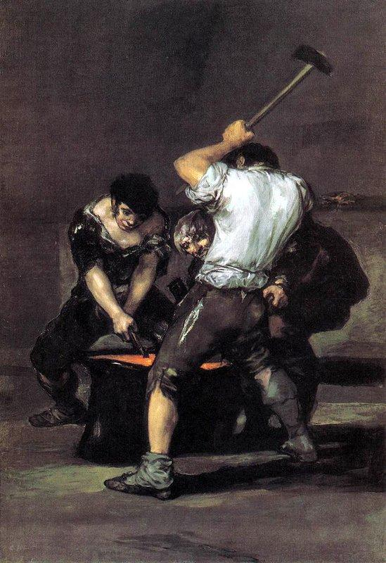 The Forge - Francisco Goya