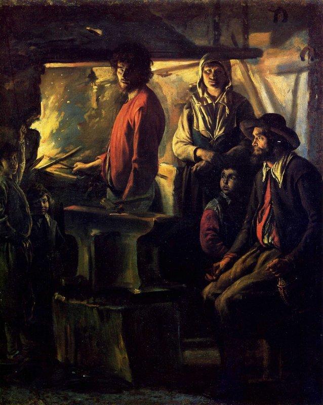 The Forging - Le Nain brothers