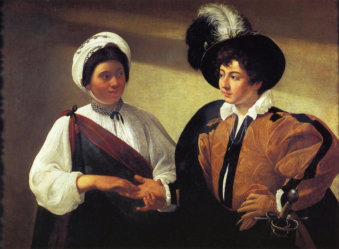 The Fortune Teller - Caravaggio