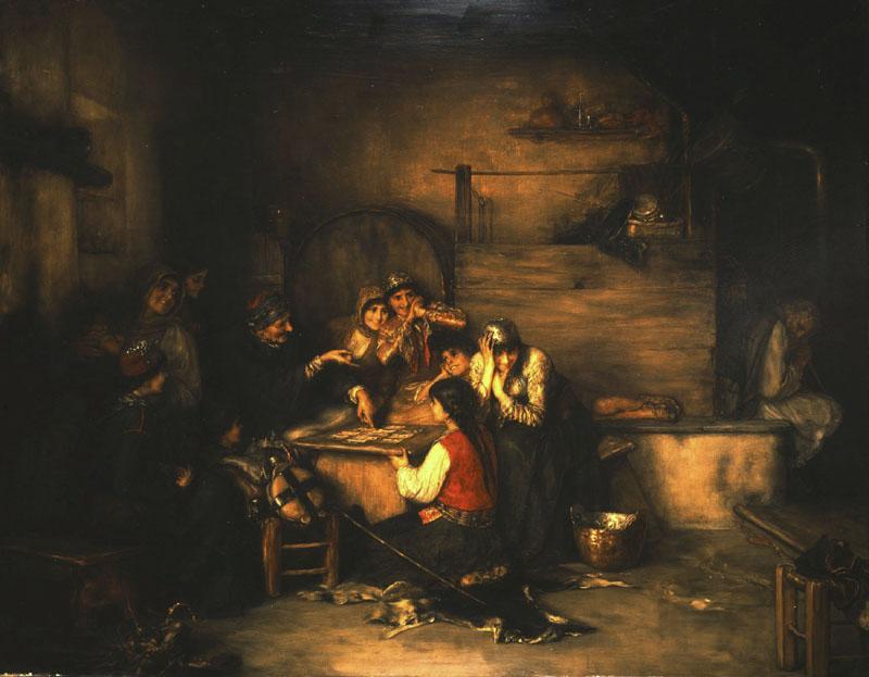 The Fortune Teller - Nikolaos Gyzis