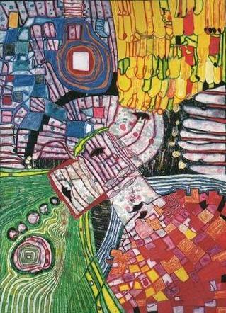 994 The Four Antipodes - Friedensreich Hundertwasser