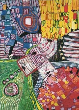994 The Four Antipodes - Friedensreich Hundertwasser