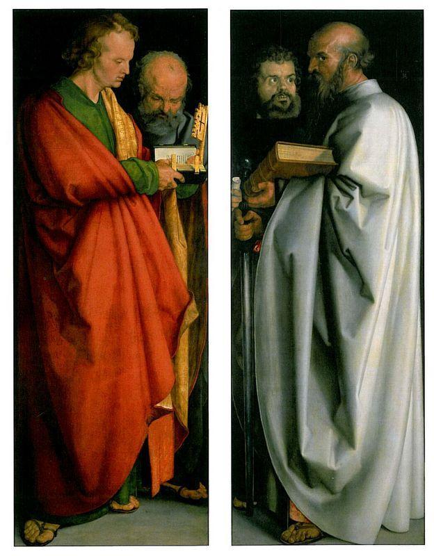 The Four Apostles - Albrecht Durer