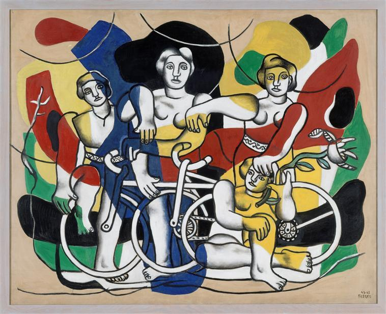 The four cyclists - Fernand Leger