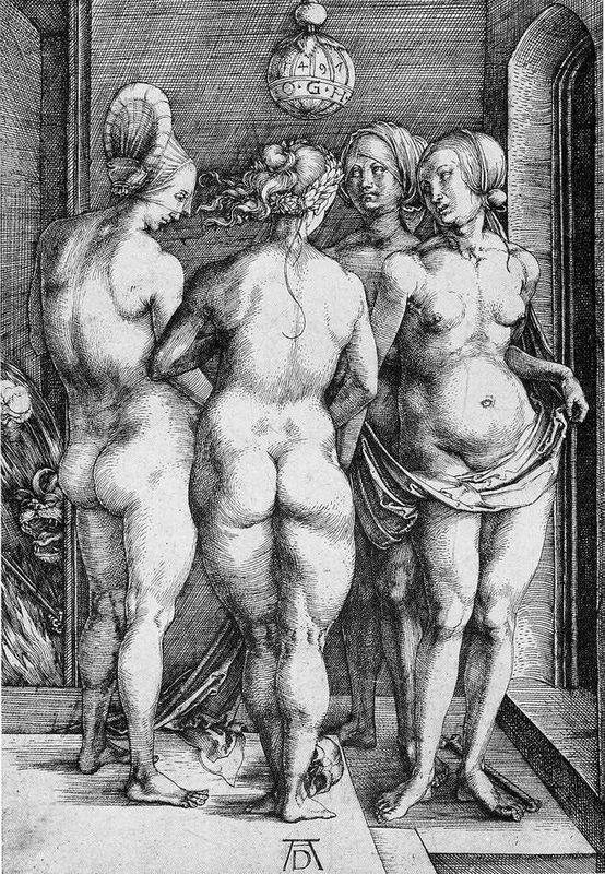 The Four Witches - Albrecht Durer