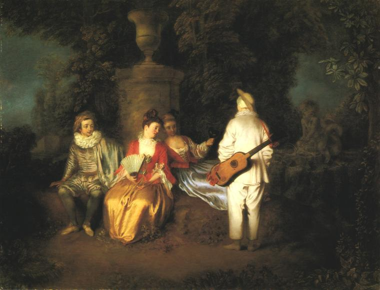 The Foursome - Antoine Watteau