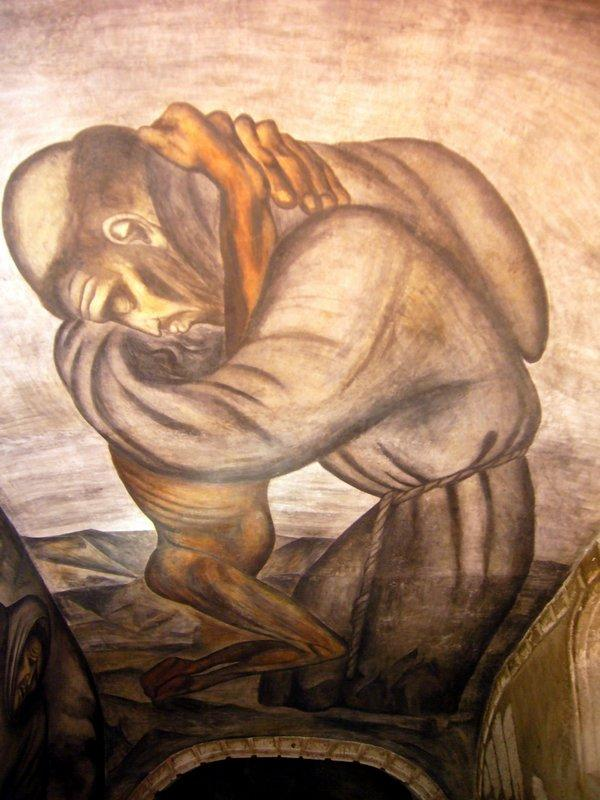 The Franciscans - Jose Clemente Orozco