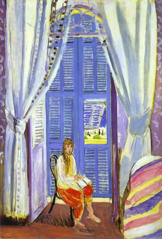 The French Window at Nice  - Henri Matisse