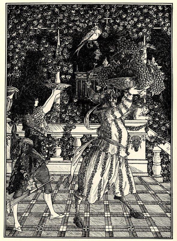 The Fruit Bearers - Aubrey Beardsley
