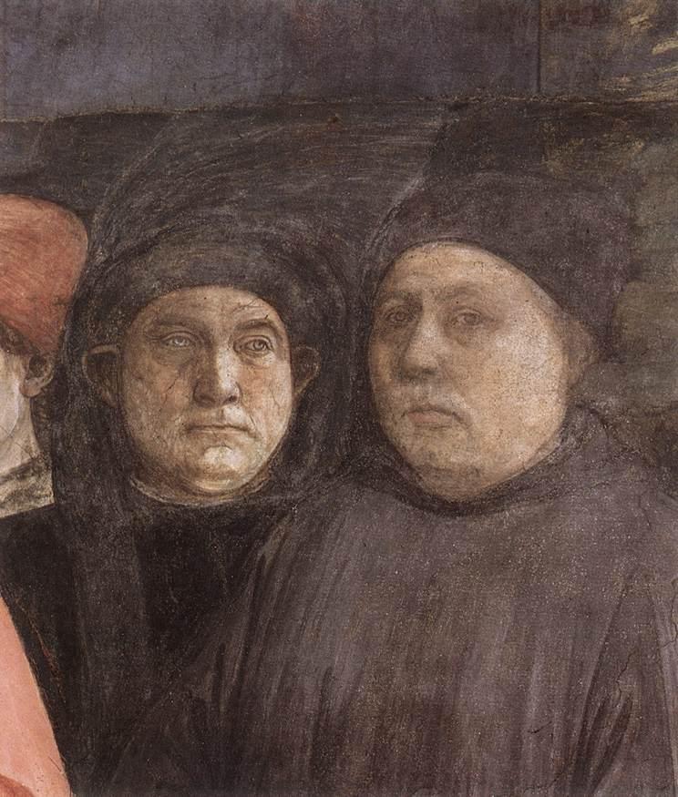 The Funeral of St. Stephen (detail) - Filippo Lippi