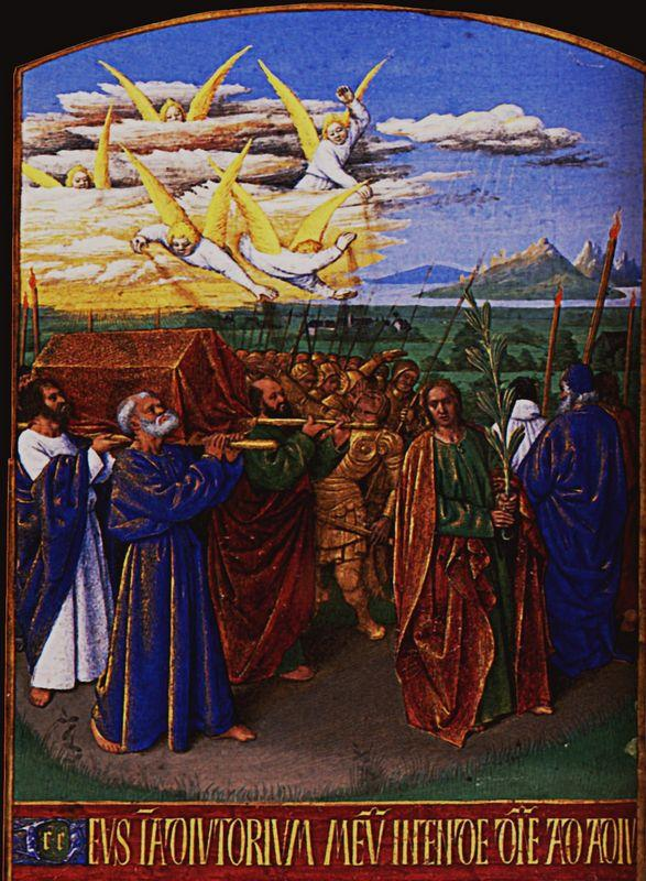 The Funeral of the Virgin - Jean Fouquet