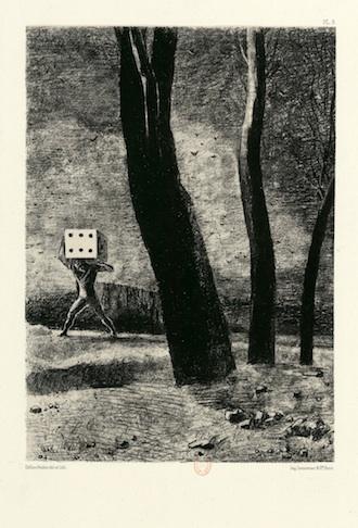 The Gambler - Odilon Redon