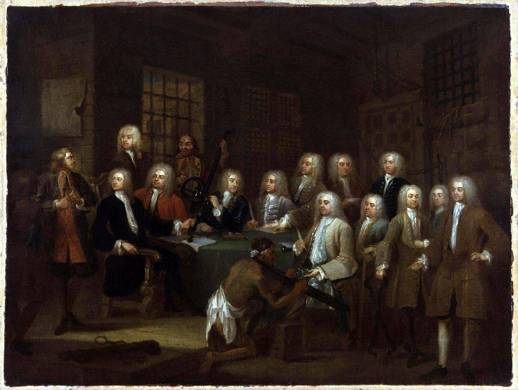 The Gaols Committee of the House of Commons - William Hogarth