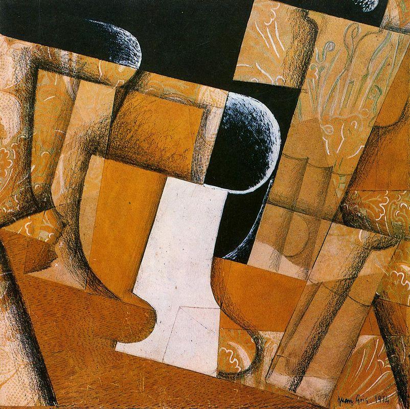 The Glass ( The Fruit Bowl) - Juan Gris