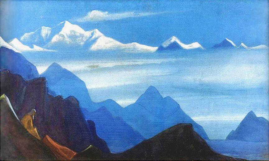 The glory of Himalayas - Nicholas Roerich