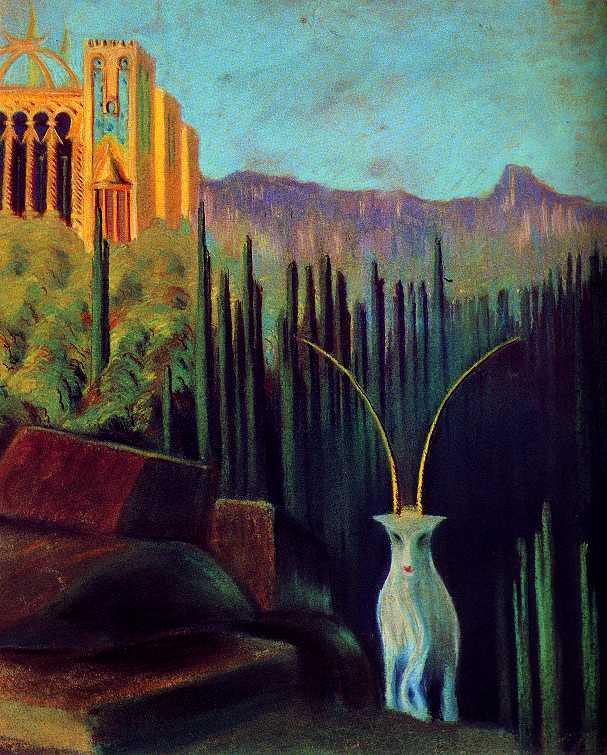 The goat  - Mikalojus Ciurlionis