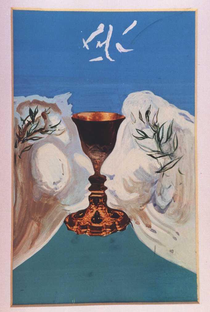 The Gold Chalice - Salvador Dali
