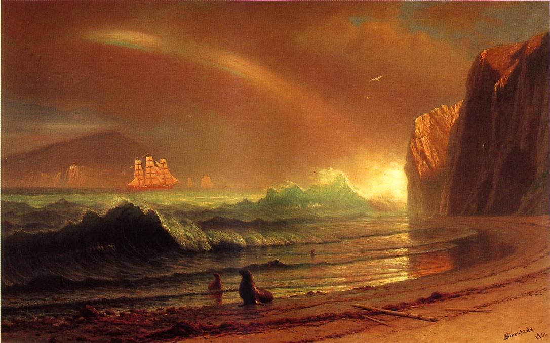 The Golden Gate - Albert Bierstadt