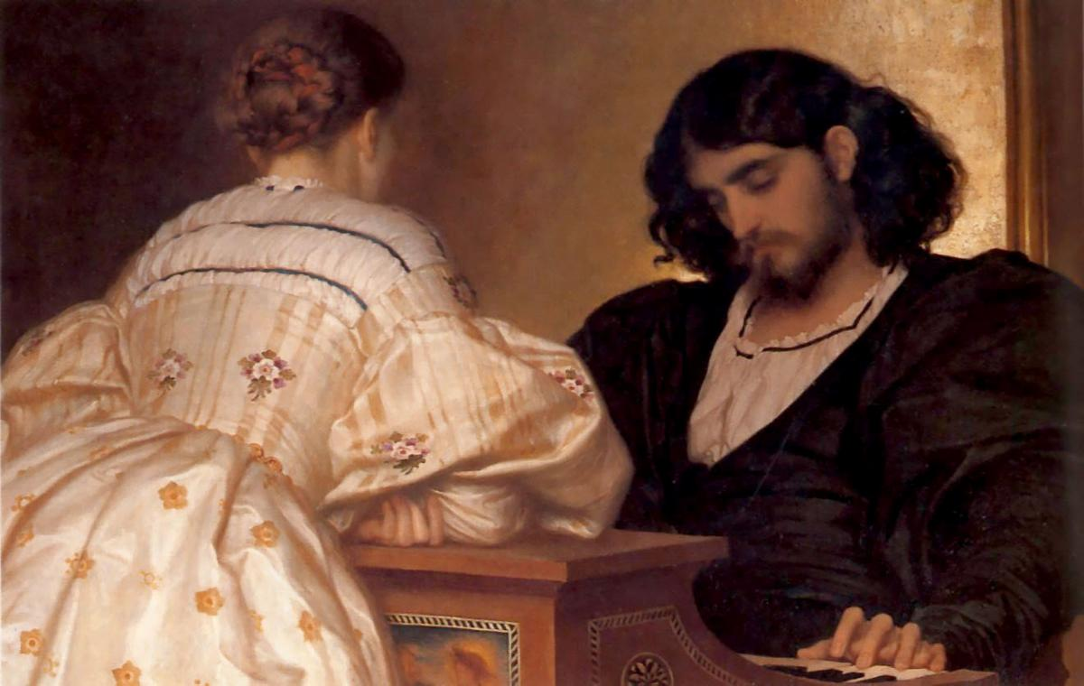 The Golden Hours - Frederic Leighton