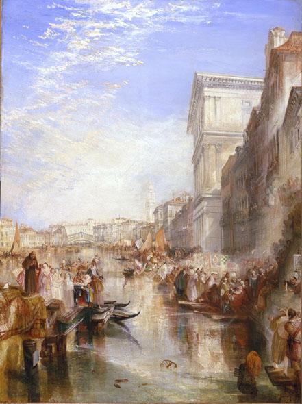 The Grand Canal Scene, A Street In Venice - William Turner