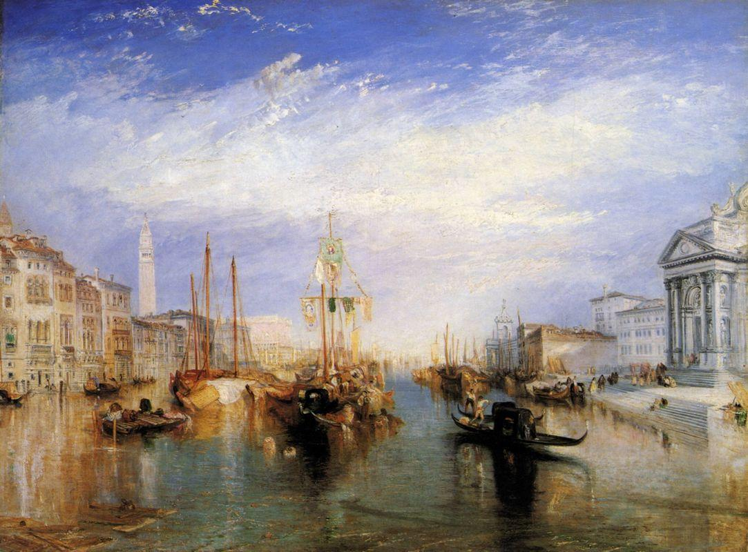 The Grand Canal, Venice, engraved by William Miller - William Turner