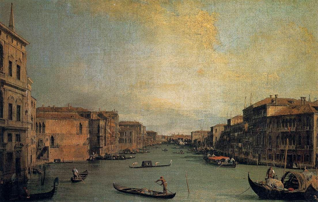The Grand Canal - Canaletto
