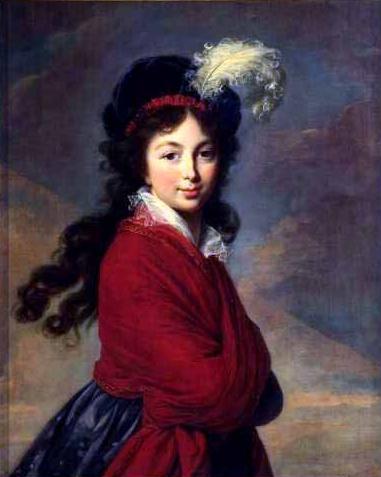 The Grand Duchesse Anna Feodorovna - Louise Elisabeth Vigee Le Brun