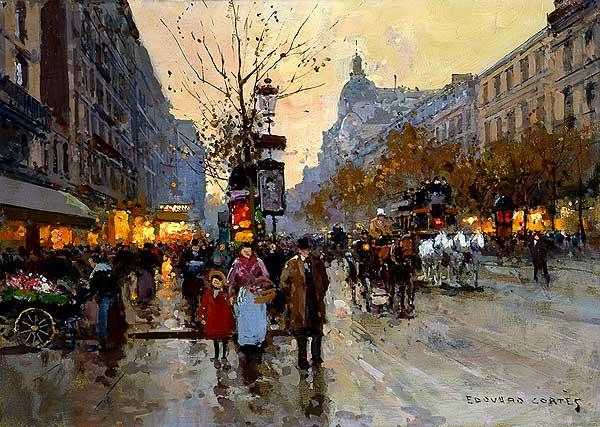 The Grands Boulevards - Edouard Cortes