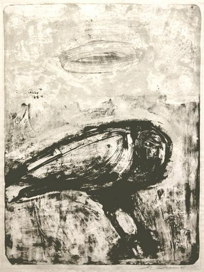 The Great Bird - Nathan Oliveira