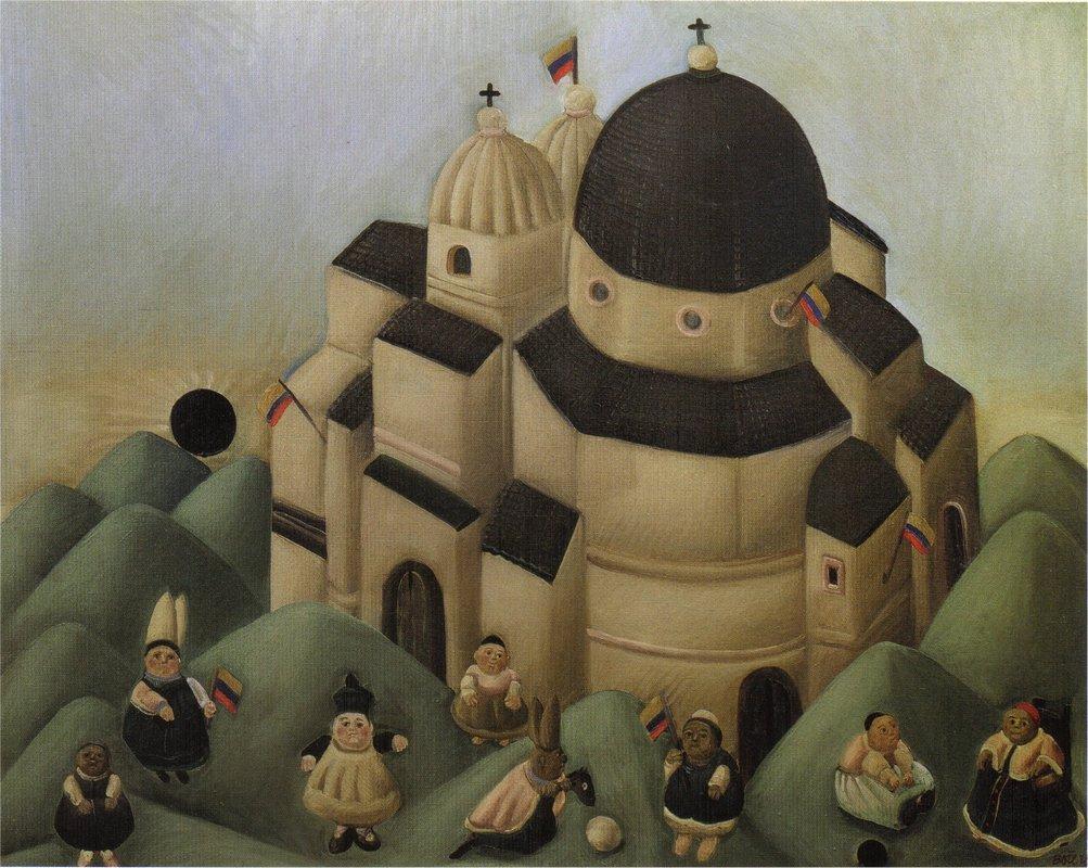 The Great Feast - Fernando Botero