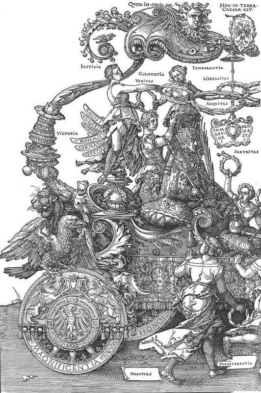 The Great Triumphal Car - Albrecht Durer
