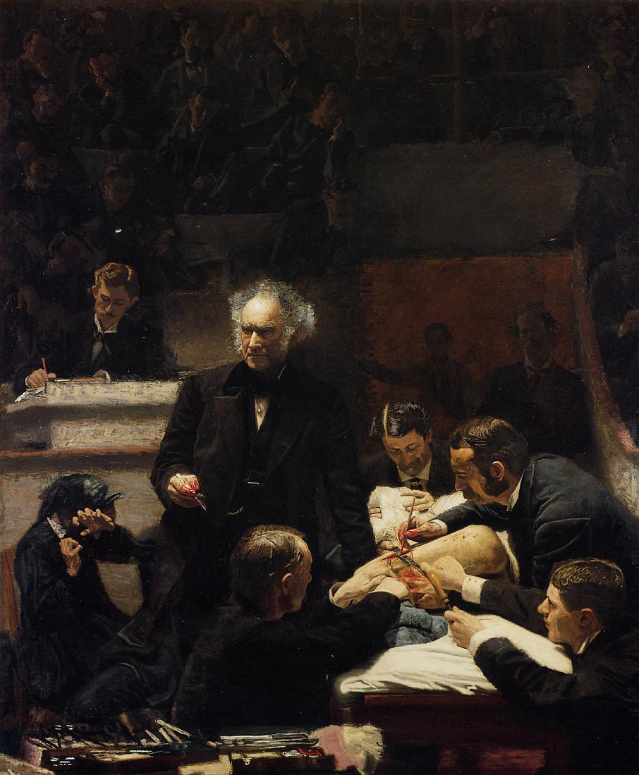The Gross Clinic - Thomas Eakins