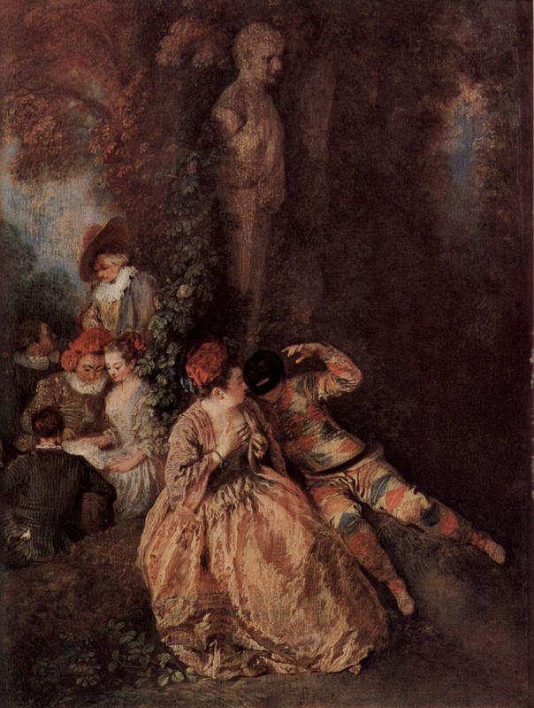 The Harlekin - Antoine Watteau