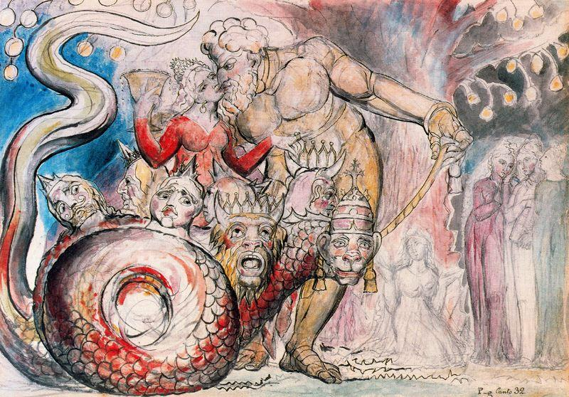 The Harlot and the Giant - William Blake