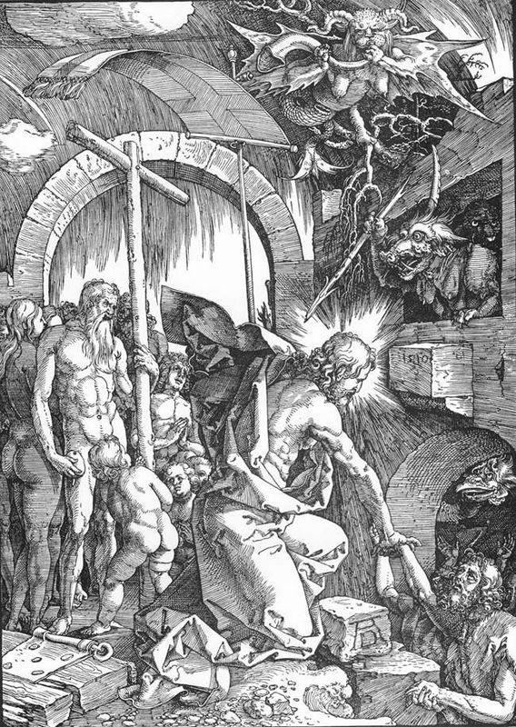 The Harrowing of Hell or Christ in Limbo, from The Large Passion - Albrecht Durer