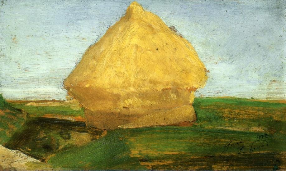The Haystack - Paul Signac