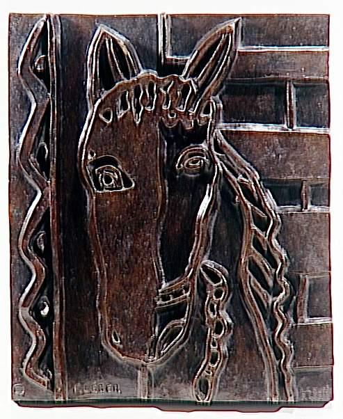 The head of a horse (The Horse) - Fernand Leger