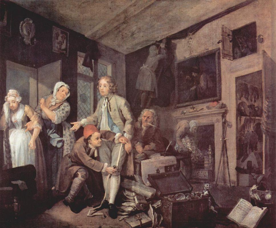 The heir - William Hogarth