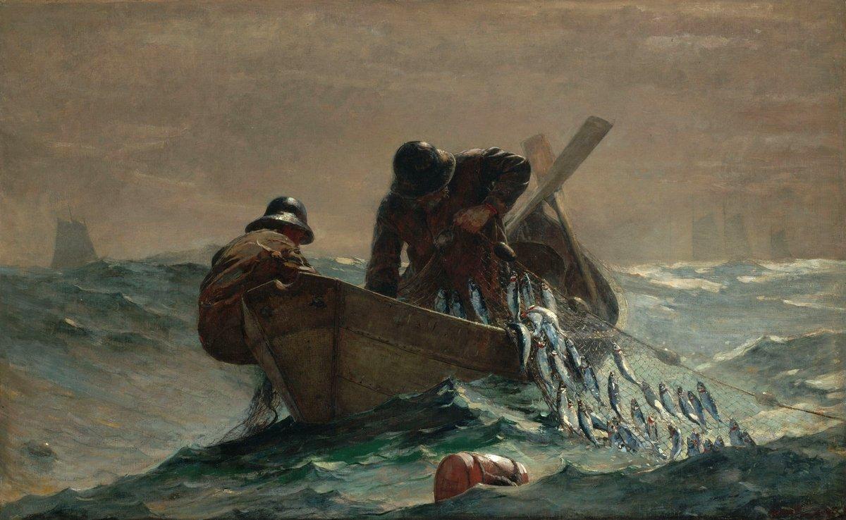 The Herring Net - Winslow Homer
