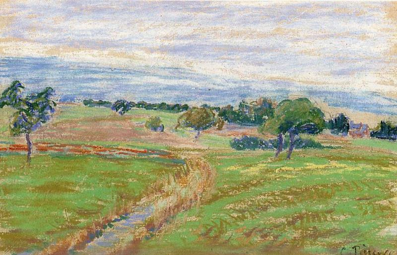 The Hills of Thierceville - Camille Pissarro