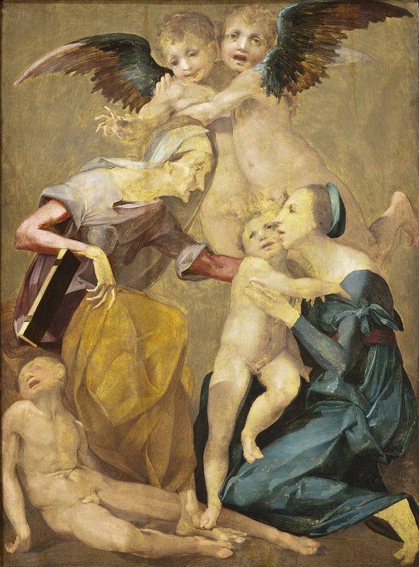 The Holy Family - Rosso Fiorentino