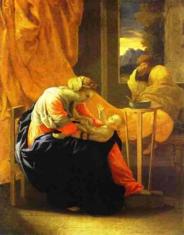 The Holy Family - Nicolas Poussin