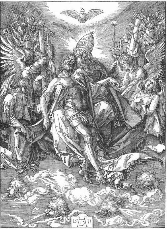 The Holy Trinity - Albrecht Durer