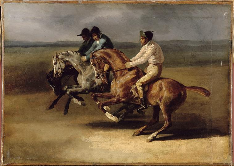 The Horse Race - Theodore Gericault