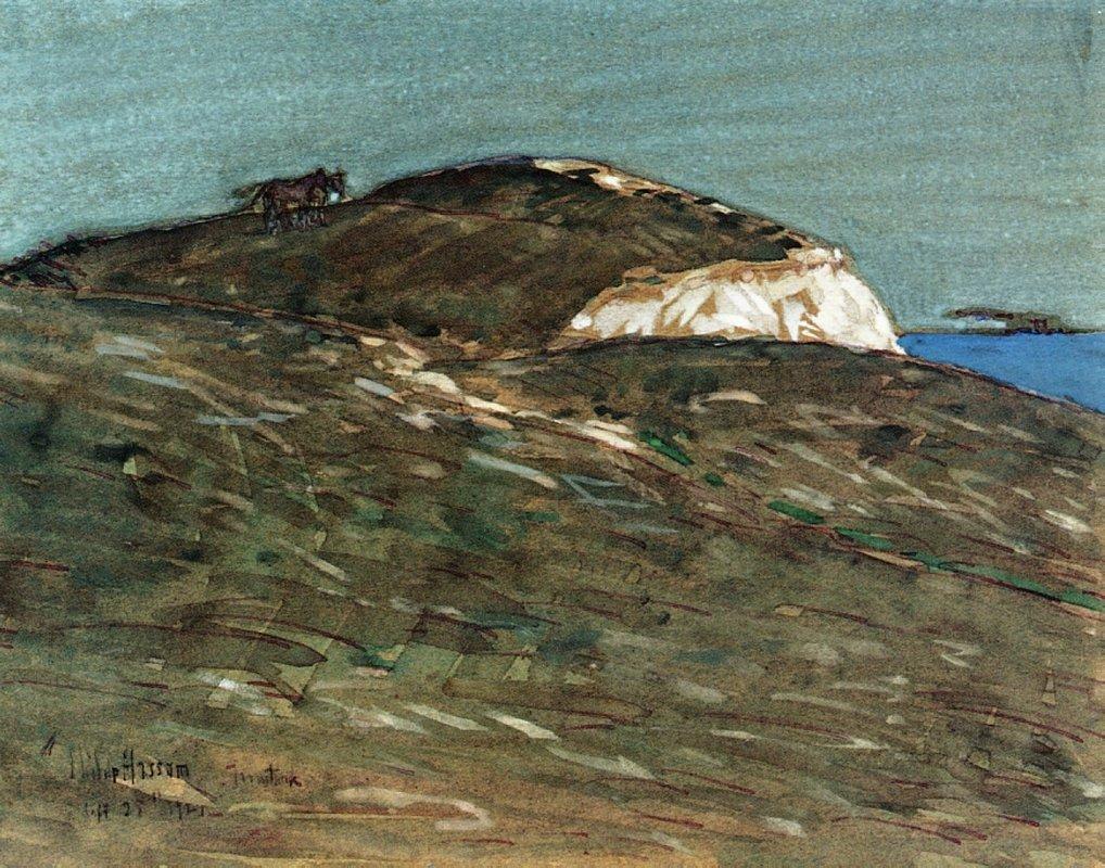 The Hourse of Actaeon, Montauk - Childe Hassam